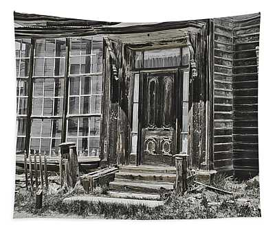 Old Old House Tapestry by Richard Balison