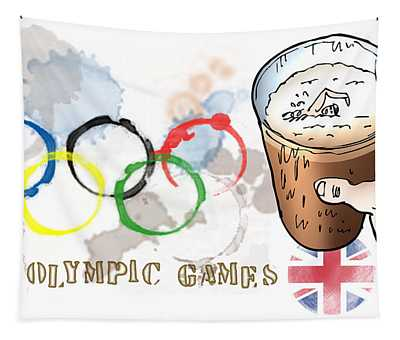 Olympic Rings Tapestry