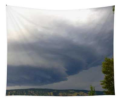 Ominous Cloud Formation Tapestry