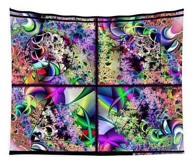 One Weirdass Design Tapestry