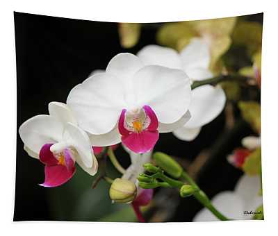 Orchid Buds Tapestry