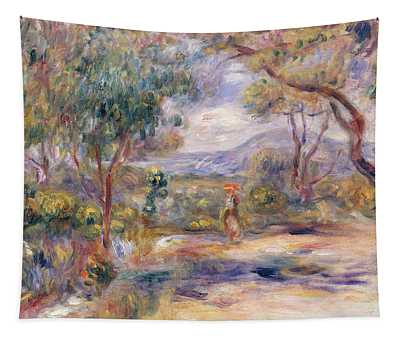 Paysage A Cannes  Tapestry