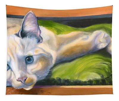 Picture Purrfect Tapestry