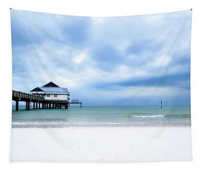 Pier 60 At Clearwater Beach Florida Tapestry