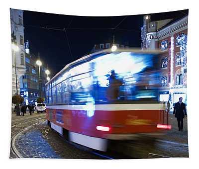 Prague Tram Tapestry
