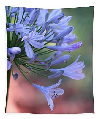 Pretty In Blue Tapestry