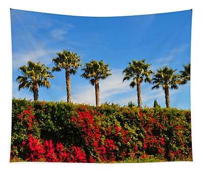 Pt. Dume Palms Tapestry