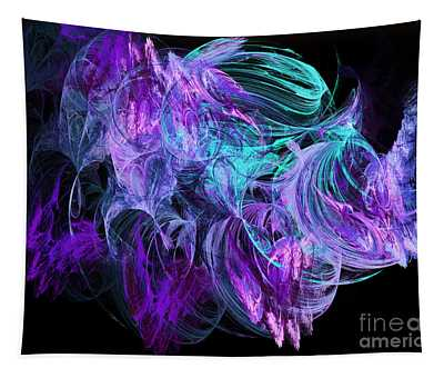 Purple Fusion Tapestry