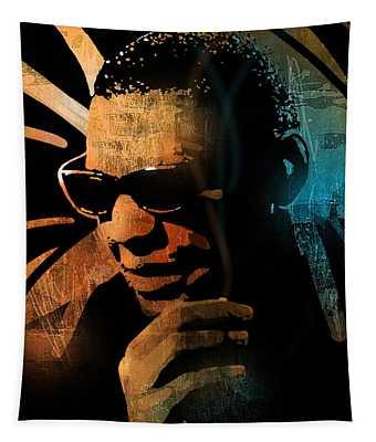 Ray Charles Tapestry