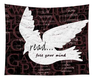 Read Free Your Mind Brick Tapestry