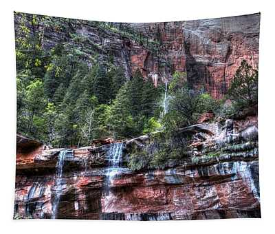 Red Falls Tapestry