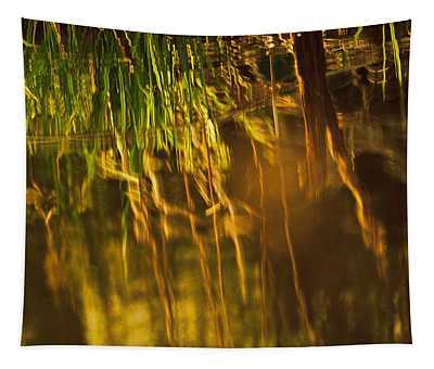 Reflecting On A Summer Morn Tapestry