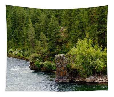 Rockin The Spokane River Tapestry