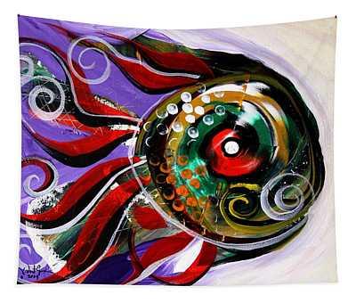 Salvador Dali Octo Fish Tapestry