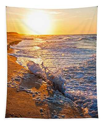 Shackleford Banks Sunrise Tapestry
