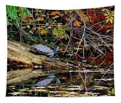 Snapper Turtle Tapestry