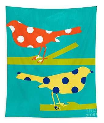 Song Birds Tapestry