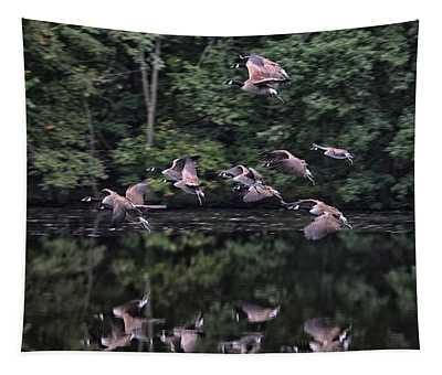 Squadron Landing Tapestry