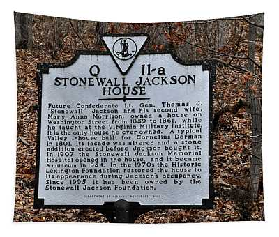 Stonewall Jackson House Tapestry