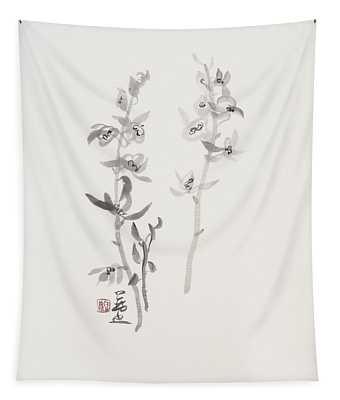 Sumi-e Six Tapestry