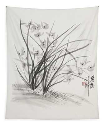 Sumi_e Three Tapestry