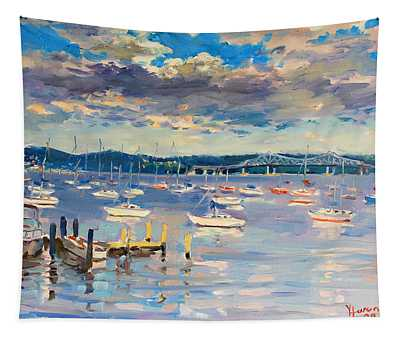 Sun And Clouds In Hudson Tapestry