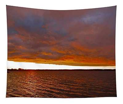 Sunrise At Ile-bizard ...  Tapestry