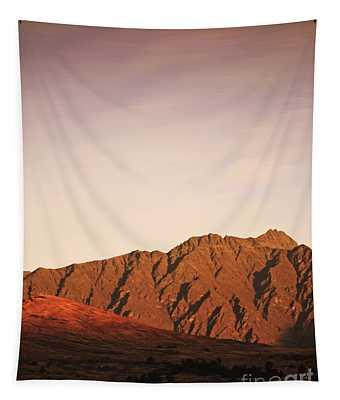 Sunset Mountain 2 Tapestry