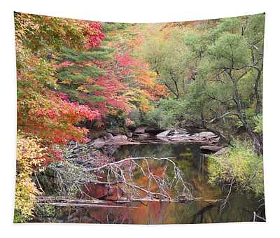 Tanasee Creek In The Fall Tapestry