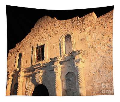 The Alamo Perspective Tapestry