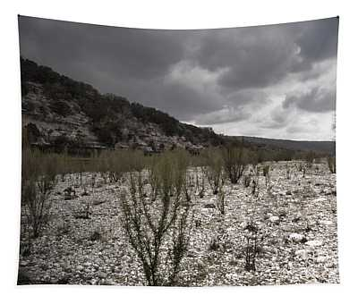 The Bank Of The Nueces River Tapestry