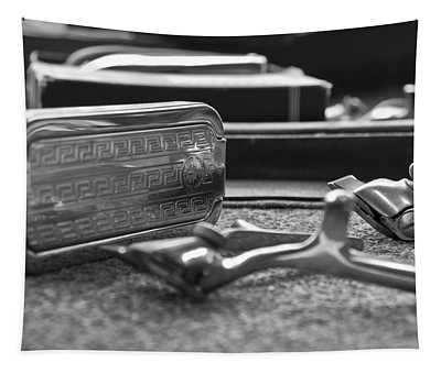 The Barber Shop 1 Bw Tapestry