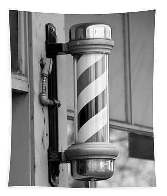 The Barber Shop 4 Bw Tapestry