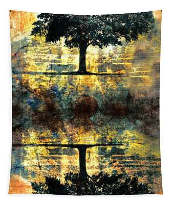 The Small Dreams Of Trees Tapestry