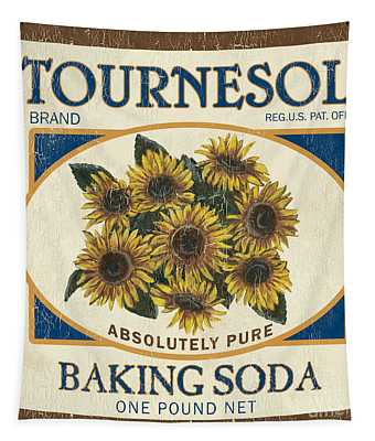 Tournesol Baking Soda Tapestry