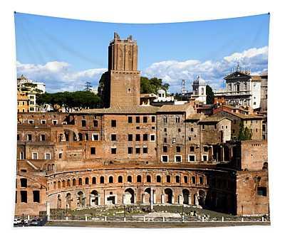 Trajan's Market  Tapestry