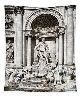 Trevi Fountain Detail Tapestry