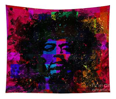 Tripping With Hendrix Tapestry