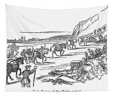 Tudor Period: Pack Horses Tapestry