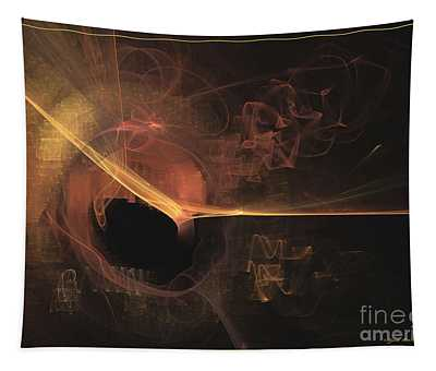 Turning Point - Abstract Art Tapestry