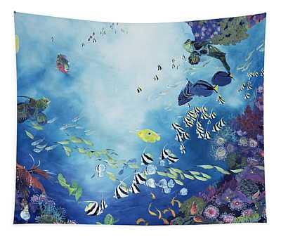 Underwater World IIi Tapestry