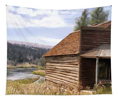 Vc Backyard Tapestry