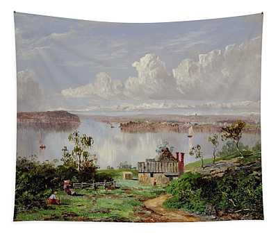 View From Onions Port Sydney  Tapestry