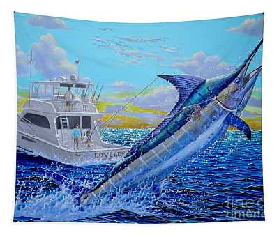 Viking Marlin Tapestry