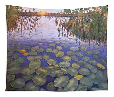 Waterlillies South Africa Tapestry