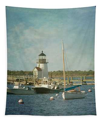 Welcome To Nantucket Tapestry