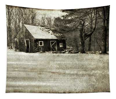 Winter Textures Tapestry