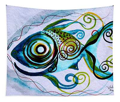 Wtfish 006 Tapestry