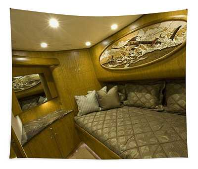Yacht Woodwork Tapestry