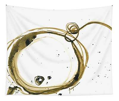 Fearless Move - Revolving Life Collection - Modern Abstract Ink Artwork Tapestry